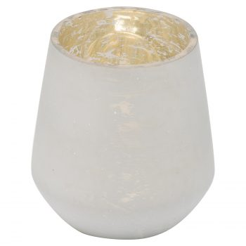 The Noel Collection White Tealight Holder
