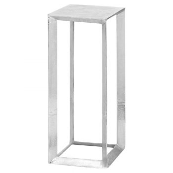 Cast Silver Plant Stand